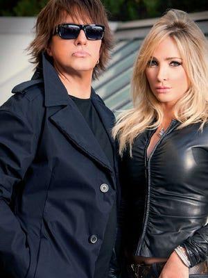 Richie Sambora and Nikki Lund in happier days.