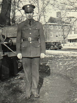 Elwin Harris served in the U.S. Air Force from 1939 through 1946.