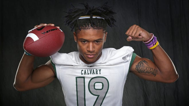 All-City Defensive MVP Chanse Sylvie led a dominant Calvary defense in his senior season.