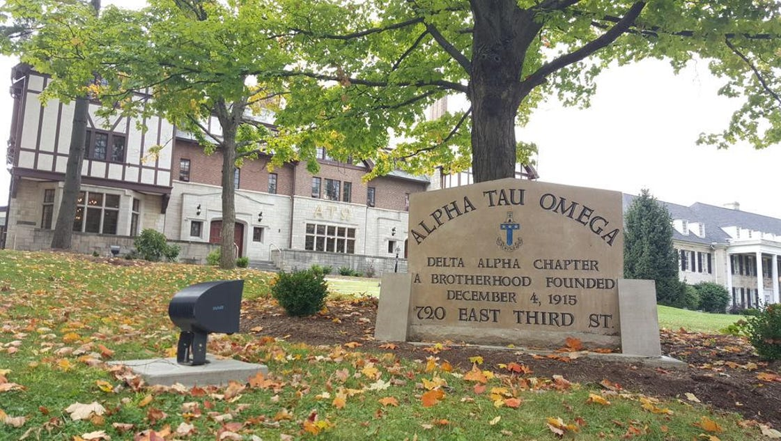 story news crime fraternity suspended hazing investigation underway