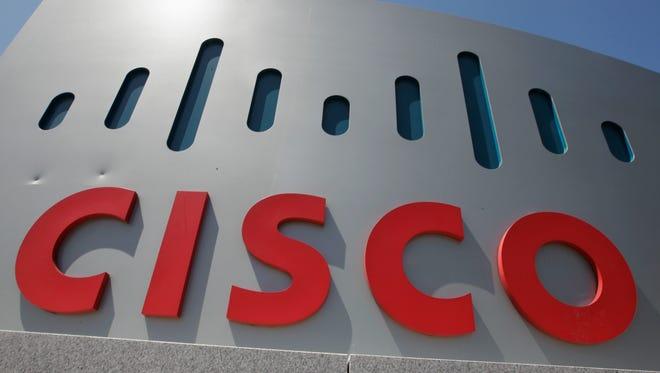 Cisco Systems' headquarters in Santa Clara, Calif.
