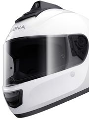 "The INC helmet from Sena is supposed to let you ""ride like the wind without listening to it."""