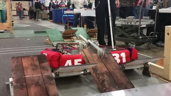 After the completion of a six-week-long build season, STEMpunk — a FIRST robotics team from Mishicot — attended the Lake Superior Regional competition in Duluth.