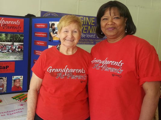 Becky Griffin (left) and Tammy Levingston (right) .GaP cropped 20150502_1207