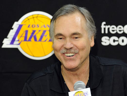 The Lakers signed Mike D'Antoni to a three-year, $12 million contract on November 12, 2012.