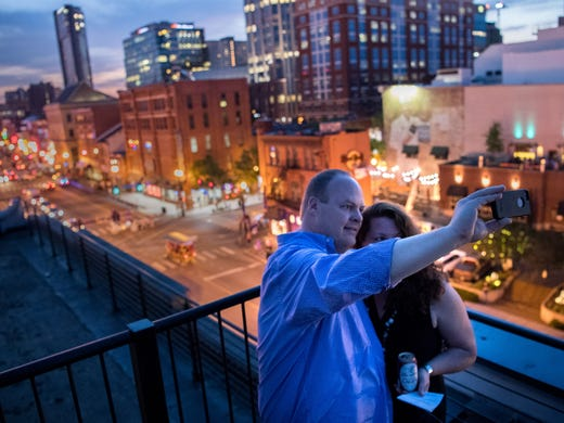 Find your bliss on one of these rooftop bars in Nashville