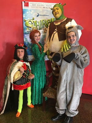 Shrek The Musical Jr Brings Irreverent Family Fun To The Roxy Regional Theatre