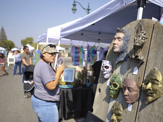 More than 70 individual artists throughout the Valley showcased their work on Saturday during the 8th annual Taste the Arts festival in downtown Visalia. The event, hosted by Arts Consortium, takes a year to plan and attracts visitors from across the county.