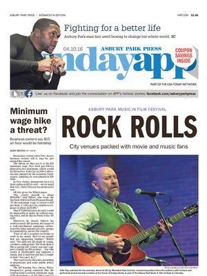 April 10, 2016 Front page