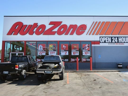 AutoZone is Memphis-based auto parts retailer.