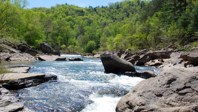Big South Fork National River and Recreation Area in eastern Tennessee.