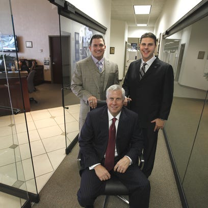 From left: Jason Guck, Craig Jerabeck and Jeb Tyler