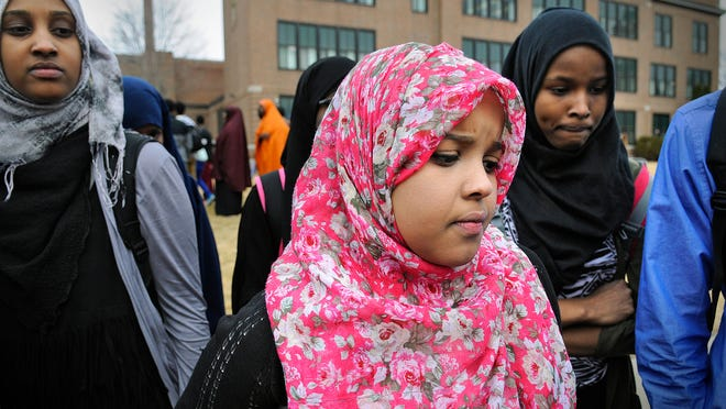 Tech High School ninth-grader Hodo Nour says she was the subject of Snapchat and Facebook posts that implied she is affiliated with a terrorist organization. The posts and other incidents prompted more than 100 Somali students and some parents to protest Wednesday outside the high school. The school was in containment for more than two hours during the protest.