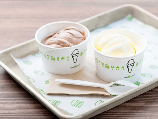 Frozen custard from Shake Shack, which is opening this