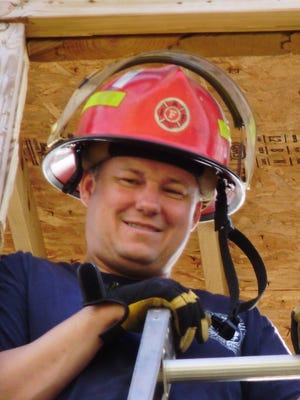 Mike Drury started work for the Merrill Fire Department  in 1986 and worked his way up to battalion chief.