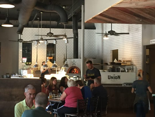 The dining room of the Union Eatery Taphouse Coffee