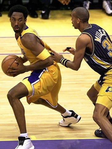 Reggie Miller never forgave Kobe Bryant for the 2000