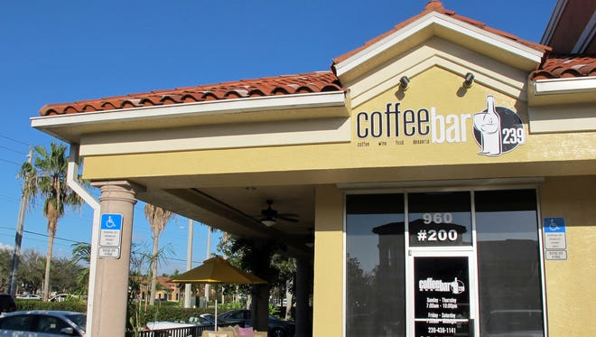 Coffee Bar 239 launched two weeks ago fronting Immokalee Road in the Granada Shoppes on the southeast corner of U.S. 41 North in North Naples.