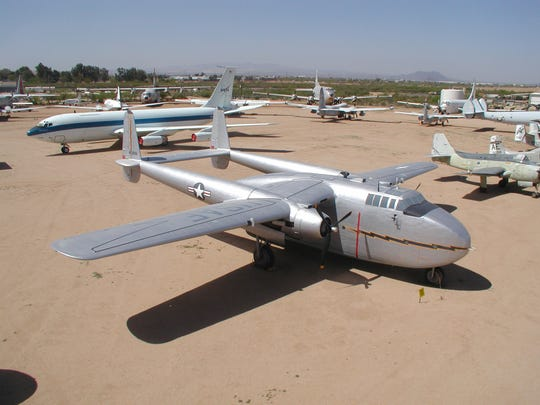 The outdoor exhibits at the Pima Air & Space Museum
