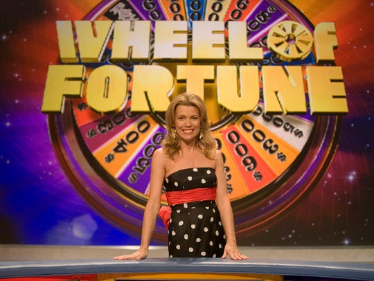 """Vanna White, South Carolina native and co-host of """"Wheel of Fortune,"""" poses on the set Friday, Jan. 12, 2007."""