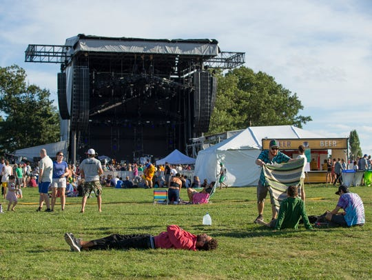 Magnaball, the festival thrown by the band Phish at