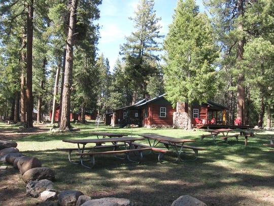Hannagan Meadow Lodge and cabins.
