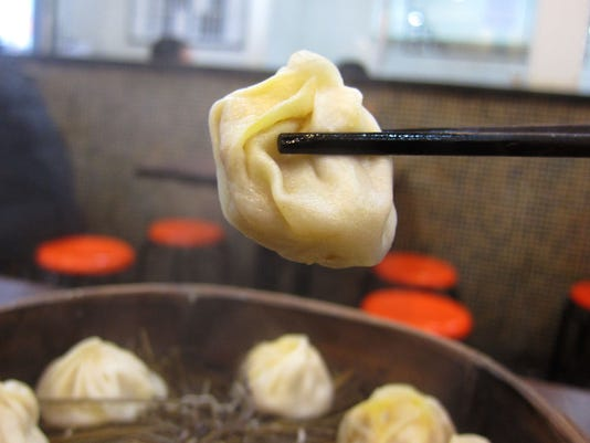 Xiao long bao at Lin Long Fang