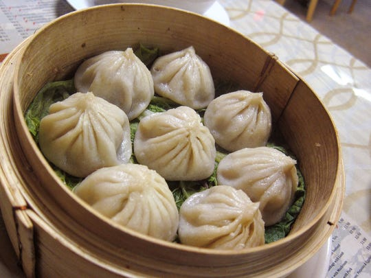 The xiao long bao at Chou's are a little crudely constructed,