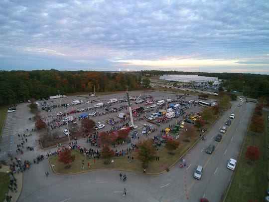 The Ballpark at Jackson hosted a Trunk or Treat, Friday,