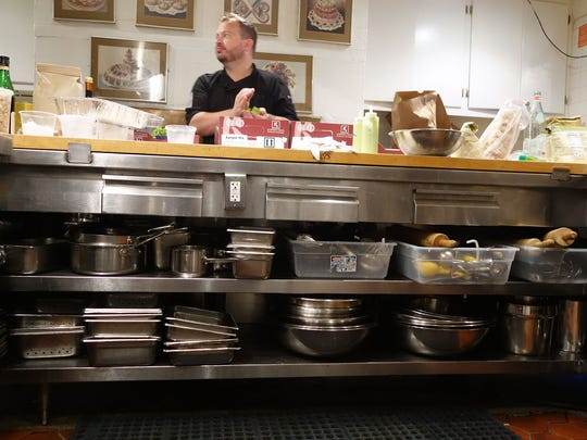 The kitchen at the James Beard House is well-stocked