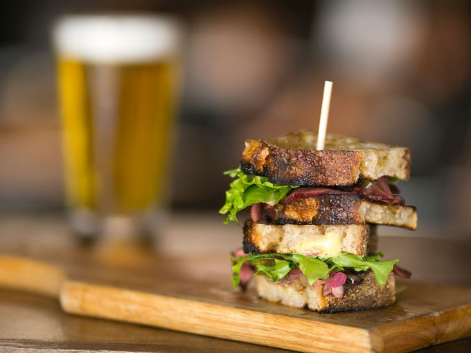 Beef Heart Sandwich at Evo | My list opens on a bit