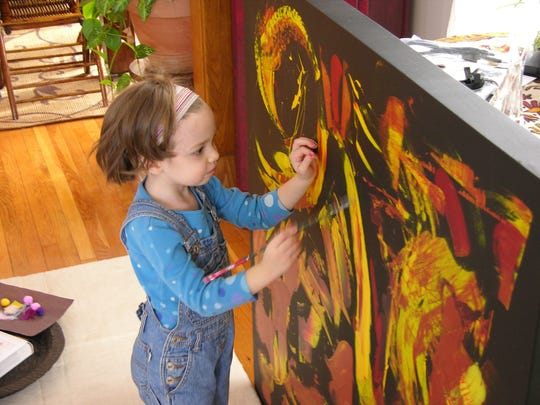 """Sony Pictures Classics provided this photo of Marla Olmstead in the film """"My Kid Could Paint That."""""""