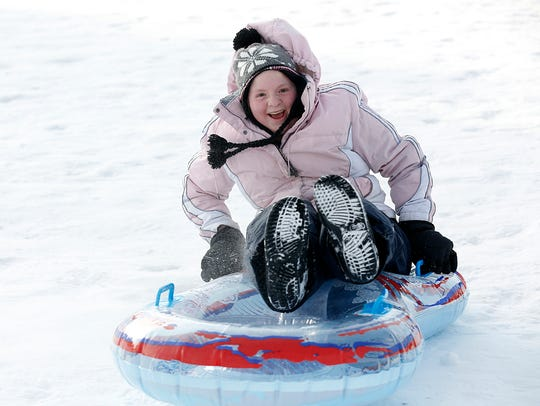 Kids, teens and families took to the hill at Buttermilk