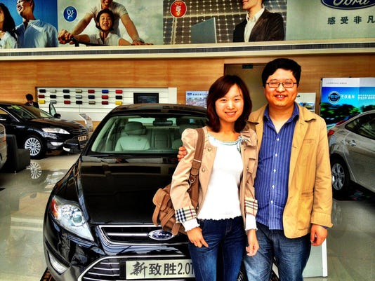 XXX GAN-AUTO-CHINA-DEMAND-050612.JPG I F FILE CHN