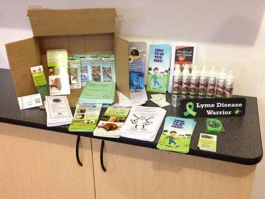 """""""Support Group in a Box"""" provides resources for Lyme"""