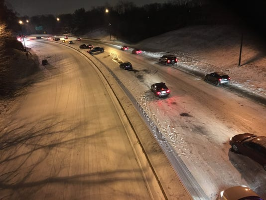 baltimore worst drivers in snow