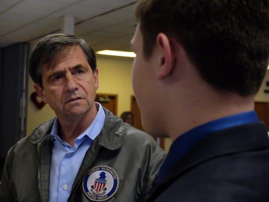 Joe Sestak visits VFW Post