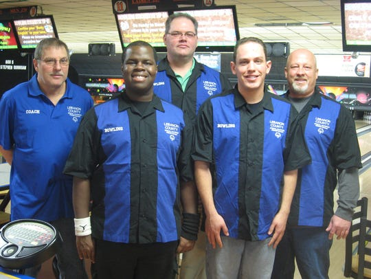 The Lebanon County Special Olympic's Unified Bowling