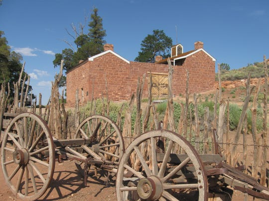 The old Mormon fort at Pipe Spring was known as Winsor