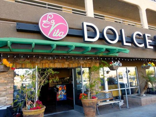 La Vita Dolce offers a classic Italian menu featuring