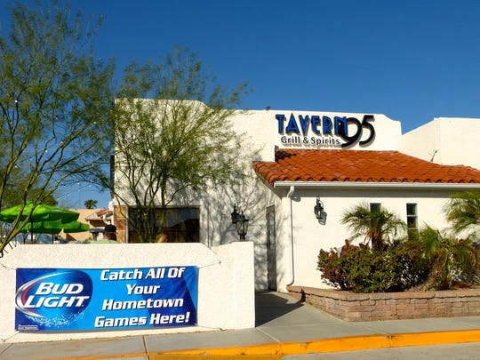 Located on the south side of town, Tavern 95 is the
