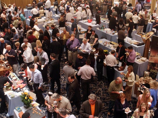 The 23rd annual Taste of Somerset, Monday, May 18, 2015,  at The Palace at Somerset in Franklin Twp., NJ.