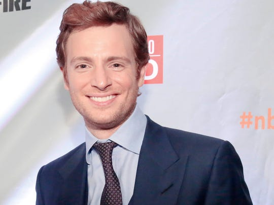 "Nick Gehlfuss is pictured at the ""NBC Chicago Celebration"