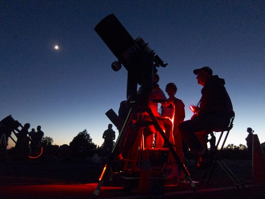 6/4-11: Grand Canyon Star Party | The vast majority experience the Grand Canyon during the day, what with all the steep drop-offs much harder to see at night. But those who stroll the rims at night enjoy a sky filled with stars. You can go a little deeper through Saturday, June 11 at the Grand Canyon Star Party. Amateur astronomers guide you through planets and constellations. | Details: 8 p.m. Saturday, June 4 through Saturday, June 11. South Rim at Grand Canyon Visitors Center; North Rim at Grand Canyon Lodge. Free with park admission. 928-638-7967, www.nps.gov/grca/planyourvisit/grand-canyon-star-party.htm.