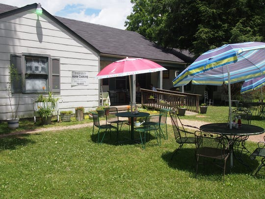 You'll feel right at home, inside or out, at Barbara's