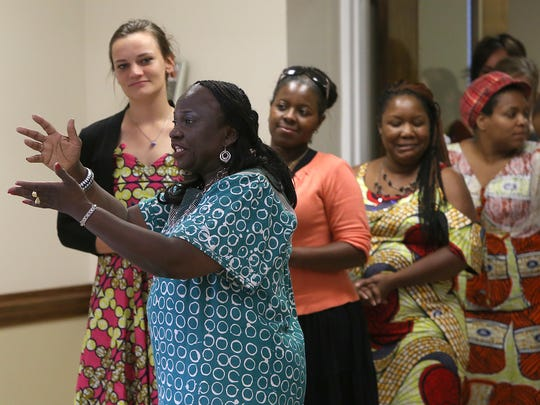 A rehearsal for the Taste of Congo fashion show was held June 9 at West Jackson Baptist Church.