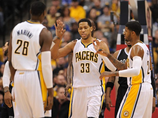 Danny Granger was an All-Star and a Most Improved Player with the Pacers.