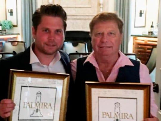 Father-son pair Dan and Josh Spreng won the Palmira