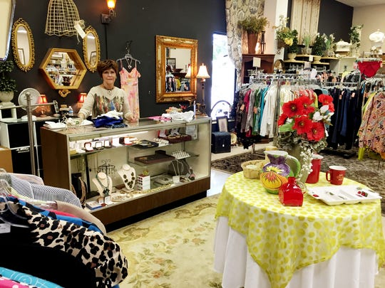 GraceWorks thrift store in Franklin gets high marks. It is really three stores in one - the clothing shop, the furniture and household goods store and the boutique.