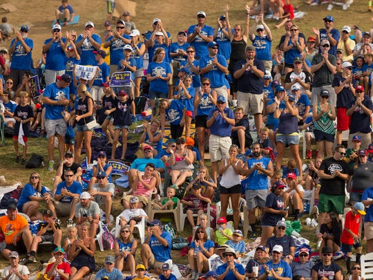 The community rallied around Maine-Endwell during the Little League World Series, with many making the drive to Williamsport for the games.